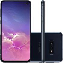 "Celular Samsung Galaxy S10e 128GB Dual Chip Android 9.0 Tela 5,8"" Octa-Core 4G - Preto -"