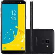 Celular Samsung J6 Galaxy Preto 32gb Tela 5.6'' Tv Digital -