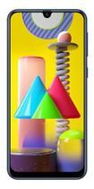 """Celular Samsung M31 M315F 64GB / 6GB Ram / Dual Sim / Tela 6.4"""" / Cameras 64MP + 8MP + 5MP + 5MP e 32MP - Azul/Preto/Ver -"""