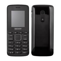 """Celular Semp GO 1L 1810, Dual Chip, Preto, Tela 1.8"""", Câmera 0.3 MP, Bluetooth, Rádio FM - Alcatel"""