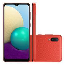 Celular Smarphone Samsung A022 A02 32GB - Vermelho -