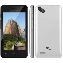 Celular Smartphone 3G 4 Pol Dual Chip Quad Core Camera 5 Mp Multilaser (NB251/252) -