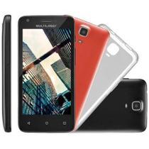 Celular Smartphone Multilaser Ms45s 4,5 Preto Dual Chip 8gb -