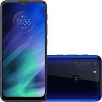 Celular Smatphone Motorola Moto One Fusion Dual SIM 128 GB Azul Safira 4 GB RAM -