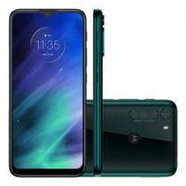 Celular Smatphone Motorola Moto One Fusion Dual SIM 128 GB verde-esmeralda 4 GB RAM -