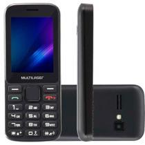 Celular Telefone Idoso Multilaser Preto Zapp 3g Tela 2,4 -