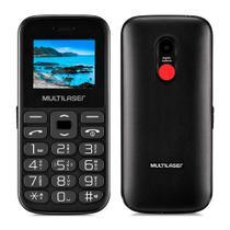 Celular Vita Iv Preto Dualchip 2g Bluetooth Multilaser P9120 -