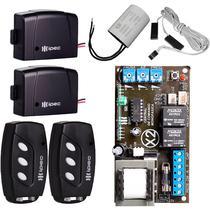 Central Motor Portão Basculante Controle Sensor Fim de Curso Capacitor 12UF - IPEC