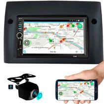 Central Mp5 Fiat Stilo Espelhamento Bluetooth Câmera Ré - Aguia Power