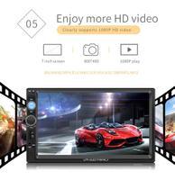 Central Multimidia 2 din 7 Pol. HD LM ELECTRONICS Bluetooth Espelhamento 4x60w -