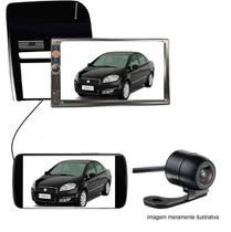 Central Multimidia 2 Din Fiat Linea 08 a 14 MP5 Black Piano - Multi marcas