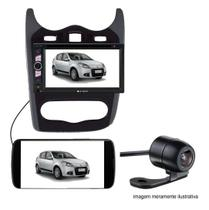 Central Multimidia 2 Din Sandero Logan Dvd 07/14 + Camera - Renault