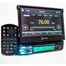 Central Multimídia 7 Mp5 Bluetooth Dvd Retratil Espelhamento - Cinoy