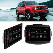 Central Multimídia 9nullnull Jeep Renegade 2018 a 2020 Slim Android TV BT Wi-Fi Winca