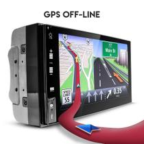Central Multimídia ANDROID 2Din 7GPS BT Espelhamento iOS - Uberparts