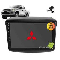 Central Multimídia Android 9 Pol L200 2008 2009 2010 11 12 13 14 15 16 17 Tv Gps Bt Usb Camera Espelhamento - X3automotive