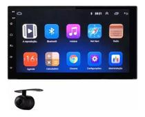 Central Multimidia Android Gps 7' Touch Universal 2din + Câmera de Ré -
