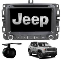 Central Multimídia Android Jeep Renegade Espelhamento Bluetooth TV Digital Touch Rádio - AVD-001 - Avancer
