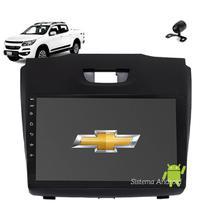 Central Multimídia Android  S10 LT e LTZ 2012 2013 2014 2015 Wifi Usb Gps Bluetooth Câmera de ré Espelhamento - Tela 9pol - X3automotive