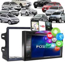 "Central Multimídia Automotiva Pósitron SP8530 BT 6.2"" Moldura 2Din 7"" Golf Polo Fox Fiesta Ecosport - Positron"