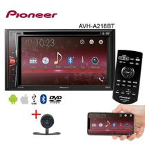 Central Multimídia Avh-A218bt Pioneer Dvd/Usb/Am/Fm/Bt/Espelhamento