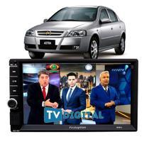 Central Multimídia Chevrolet Astra Espelha Ios Tv Digital Bt - First Option