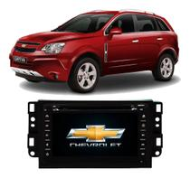 Central Multimídia Chevrolet Captiva DVD, Tv E Gps - Tay Tech