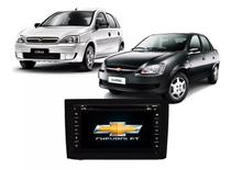 Central Multimídia Chevrolet Corsa DVD, Tv E Gps - Tay Tech