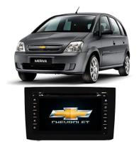 Central Multimídia Chevrolet Meriva DVD, Tv E Gps - Tay Tech