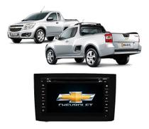 Central Multimidia Chevrolet Montana DVD, Tv E Gps - Tay Tech