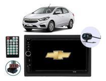 Central Multimídia Chevrolet Prisma Joy 2012 2013 2014 2015 16 17 18 19 Bluetooth Espelhamento Android Ios Usb Sd + Câmera De Ré - Genko