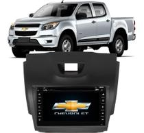 Central Multimídia Chevrolet S10 2012 Até 2016 DVD, Tv E Gps - Tay Tech