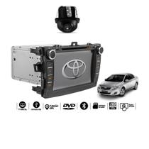 Central Multimidia Corolla 2008 2009 2010 2011 2012 2013 2014 Tv digital Gps Bluetooth Usb  Sd Card Tela 8