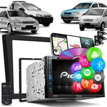 Central Multimídia Corsa Montana Vectra Meriva Pioneer AVH-Z5280TV 2 Din TV BT Espelha Android iOS -