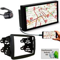 Central Multimidia Duster Dynamique Sandero Logan Captur e Kwid com MP5 Faaftech USB Bluetooth Espelhamento -
