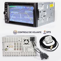 Central Multimidia Dvd 2 Din Universal TV BT USB Sd Camera re - X3automotive