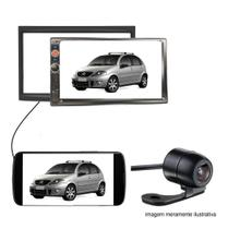 Central Multimidia Dvd Citroen C3 + Moldura 2 Din + Brinde - Multi marcas