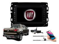 Central Multimidia Dvd +Interface de Volante, Tv E Gps - Fiat Toro - Tay Tech