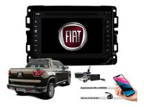 Central Multimidia Dvd +Interface de Volante, Tv E Gps - Fiat Toro - Tay Tech