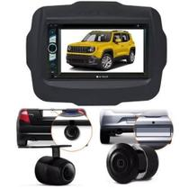Central Multimidia Dvd Jeep Renegade + Moldura 2din + Camera - Multi Marcas