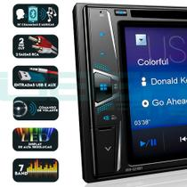 Central Multimídia DVD Pioneer AVH-G218BT Bluetooth USB FM -