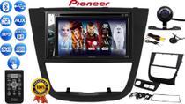 Central Multimidia Dvd Pioneer Avh-G228bt Bluetooth Cd Usb + Câmera Moldura Gol Saveiro Voyage G5 -