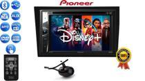Central Multimidia Dvd Pioneer Controle Bluetooth Cd Usb Câmera Moldura Corsa Vectra Meriva Montana -