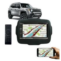 Central Multimídia Espelhamento Jeep Renegade Dvd Cd Bluetoo - Multi Marcas