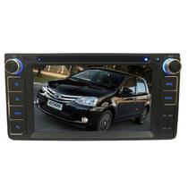 Central Multimidia Etios 2013 14 15 16 17 18 19 Tv Gps Camera  Espelhamento Usb Sd BT - X3automotive