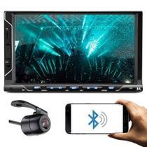 Central Multimídia Evolve Fit S c/ Bluetooth e Espelhamento + Câmera de Ré - Multilaser