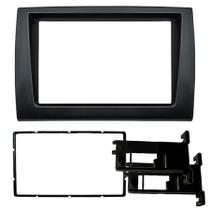 Central Multimidia Fiat Bravo 2007 a 2013 com Pioneer DMH-G228BT, Camera de Re, Moldura Preta e Interface -