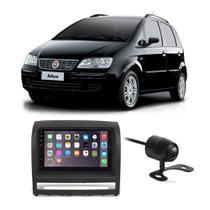 Central Multimídia Fiat Idea 2006 a 2012 7 Polegadas MP5 USB Bluetooth Espelhamento iOS Android + Câmera de Ré - Gold