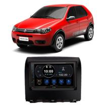 Central Multimídia Fiat Palio Fire Way 2014 a 2019 7 Polegadas Espelhamento Android iOS BT USB SD FM - Premium