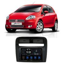Central Multimídia Fiat Punto 2007 a 2012 7 Polegadas Espelhamento Android iOS BT USB SD FM - Premium